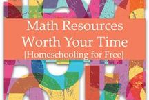 Homeschool: Math / Math ideas, activities, and resources for your homeschool.