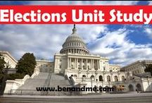 {elections unit study} / I am using Pinterest to guide my son in his unit study on Elections 2012. He can click on any of the pins to read more.  / by Marcy (Ben and Me)