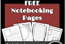 Homeschool: Notebooking / Ideas and resources for notebooking in homeschool.