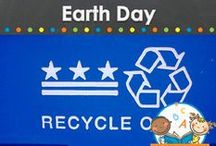 EARTH DAY THEME / Earth Day learning activities, crafts, printables and resources for young children in your preschool, pre-k, or kindergarten classroom. Recycling ideas, nature and more! Visit me at www.pre-kpages.com for more inspiration for early education! / by Vanessa @pre-kpages.com