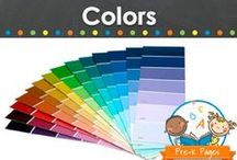 Teaching Colors / Ideas for teaching colors in your childcare, preschool, or pre-k classroom. Visit me at www.pre-kpages.com for more inspiration for early education! / by Vanessa @pre-kpages.com