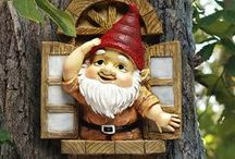 Gnomes / I do not own any of these pins, please pin as many as you like.  Happy Pinning / by Tamera Sarkozi
