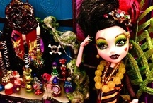☠☠☠ Monster High ☠☠☠ / by HDFloral