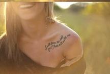 Tattoos / by Monique Vandermolen