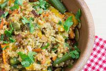 Veggies, Vegetarian & Sides / by Andrea Brown