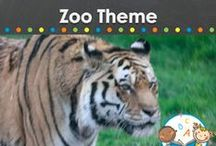 ZOO THEME / Zoo theme teaching and learning activities, crafts, ideas, printables and resources for young children in your preschool, pre-k, or kindergarten classroom. Make learning about lions, tigers, monkeys, elephants, zebras, and giraffes fun! Visit me at www.pre-kpages.com for more inspiration for early education! / by Vanessa @pre-kpages.com