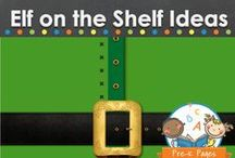 ELF ON THE SHELF / Elf on the Shelf activities and ideas for your home or classroom.  Visit www.pre-kpages.com for more inspiration for early education! / by Vanessa @pre-kpages.com
