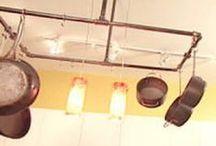 Kitchen Pan holders
