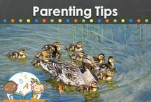 PARENTING TIPS / Parenting tips and advice for parents of young children.  Great info for teachers of young children in preschool, pre-k, and kindergarten to share with the parents of their students!   / by Vanessa @pre-kpages.com