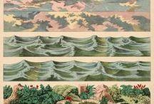 textures, patterns