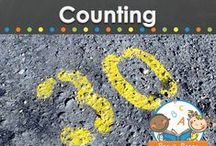 COUNTING / Counting ideas, learning activities, crafts, and printables for teaching young children in your preschool, pre-k, or kindergarten classroom how to count. Visit me at www.pre-kpages.com for more inspiration for early education! / by Vanessa @pre-kpages.com