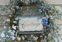 Cottage~Blue / Thanks for stopping by,  I like to Share,  pin as many as you like!!  Happy Pinning!!! / by Tamera Sarkozi