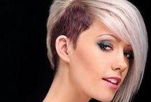 Hairstyles: Inspiration for me / Viacmenej extravagantné a veselé účesy, ktoré ma inšpirujú v mojej práci... :)