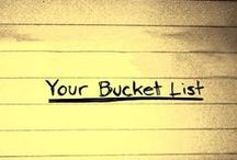 Bucket List / by Callie Poorsasan