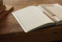 Stationery Love / Notebooks, pens and pencils, rulers, washi tape and all other things stationery