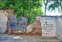 Dejadeces, pintadas y ruinas de una Granada muy bella / Desde aquí invito a denunciar el estado en que algunos espacios están dejados de la mano por parte de autoridades!!!