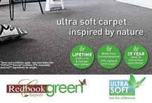 Redbook Green Carpets / Eco friendly Carpet ultra soft - www.giffards.com.au
