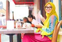 Dian Pelangi Hijab Styles