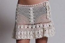 Crochet - Vestidos, Faldas y Shorts