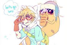 Adventure Time / ~Fanarts de personnages d'Adventure Time~