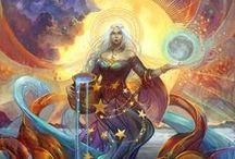 Paganismo/bruxaria/magia/mitologia / by Heliel Sena