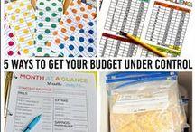 Money Saving Tips & Tricks / Tips to budget and save money.
