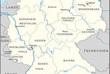 Travel: Deutschland / Potenzielle Ziele für Ausflüge & Städtereisen in Deutschland.   ♥   Potential goals for day-trips and city-trips in Germany.