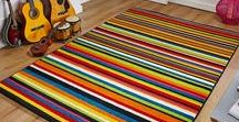 Striped Rugs / We hope you love our stunning striped rugs as much as we do. From neutral tones to bright creations we have found a huge choice for your home.