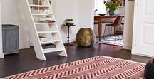 Chevron Rugs / With the craze for geometric patterns, it's safe to say that the popularity of chevron designs is still going strong.
