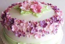 Cake / идеи по украшению тортов и просто красивые тортики
