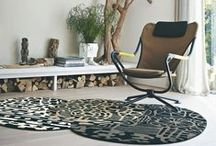 Unusual Rugs / Many people opt for the traditional rectangular shape rug, however, with so many to choose from, why not break the norm? Create a real impact by choosing an eye-catching rug in a shape that works for your room.