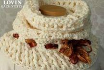 Crochet - Cuellos