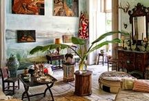 Eclectic Interiors / Driving ideas, style, or taste from a broad and diverse range of sources.