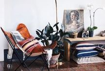 Vintage Interiors / Driving ideas, style, or taste from a broad and diverse range of sources.