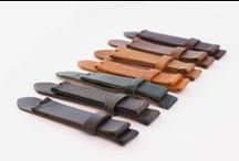 Watch straps / A collection of our hand-made, custom watch straps and watch strap style inspirations we have found online.