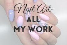 Nail Art | MW / Here you'll find photos of my ALL nail art tutorials.  I create them and share on my blog & YouTube Channel :) | nails, nail art, tutorial |