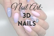 Nail Art: 3D Nails | MW / All about 3D NAILS (more on MyWonderland blog & You Tube channel).