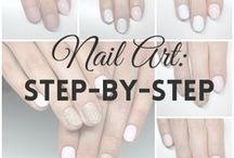 Nail Art: step-by-step | MW / Here you'll find my nail art tutorials (STEP-BY-STEP).  I create them and share on my blog & YouTube Channel :) | nails, nail art, tutorial, step by step |