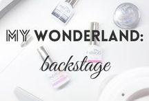 backstage | MW / My workspace / backstage :)