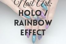 Holo / Rainbow Effect | MW / All about HOLO & RAINBOW EFFECT DUST / POWDER (more on MyWonderland blog & You Tube channel).