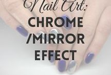 Chrome / Mirror Nails | MW / All about CHROME / MIRROR NAILS (more on MyWonderland blog & You Tube channel).