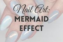 Mermaid Effect | MW / All about MERMAID EFFECT NAILS / POWDER (more on MyWonderland blog & You Tube channel).