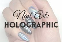 HOLOgraphic Nails | MW / All about HOLOGRAPHIC NAILS / POWDER (more on MyWonderland blog & You Tube channel).