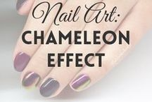 Chameleon Effect  |  MW / All about CHAMELEON NAILS / POWDER (more on MyWonderland blog & You Tube channel).