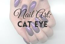 Nail Art: Cat Eye | MW / All about CAT EYE NAILS (more on MyWonderland blog & You Tube channel).