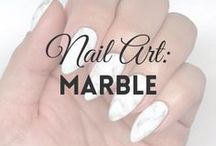 Nail Art: Marble | MW / All about MARBLE NAILS (more on MyWonderland blog & You Tube channel).