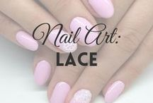 Nail Art: Lace | MW / All about LACE nail art (more on MyWonderland blog & You Tube channel).