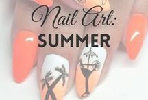 Nail Art: Summer | MW / SUMMER NAILS inspirations (more on MyWonderland blog & You Tube channel).