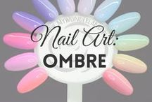 Nail Art: Ombre | MW / All about ombre nails (more on MyWonderland blog & You Tube channel).