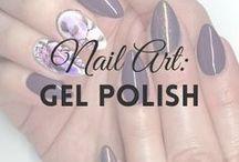Gel Polish (UV hybrid) | MW / GEL POLISH NAIL ART inspirations (more on MyWonderland blog & You Tube channel).